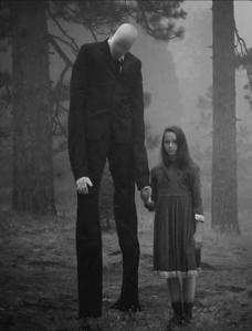 The Slender Man Alien